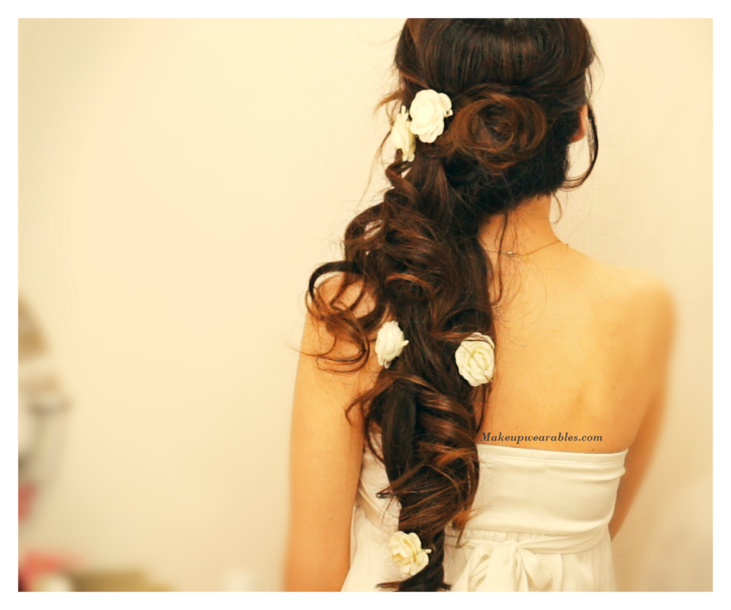 Romantic Wedding Homecoming Prom Half Up Down Updo Hairstyles Tutorial Video