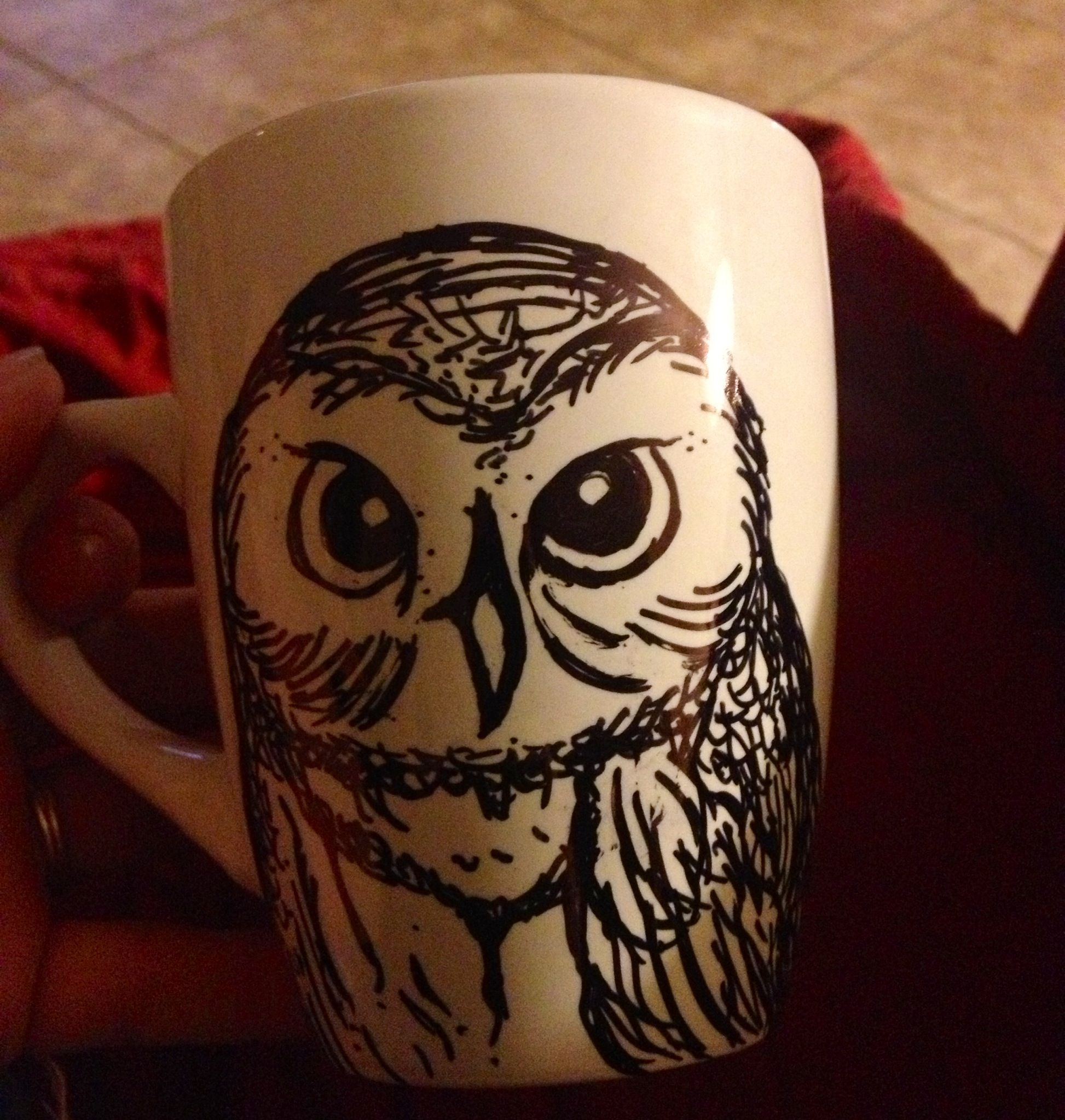 Sharpie cup- Harry Potter theme