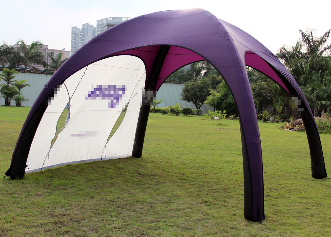 China Promotional Trade Show Outdoor Sports Polyester Inflatable Tent Waterproof supplier & China Promotional Trade Show Outdoor Sports Polyester Inflatable ...