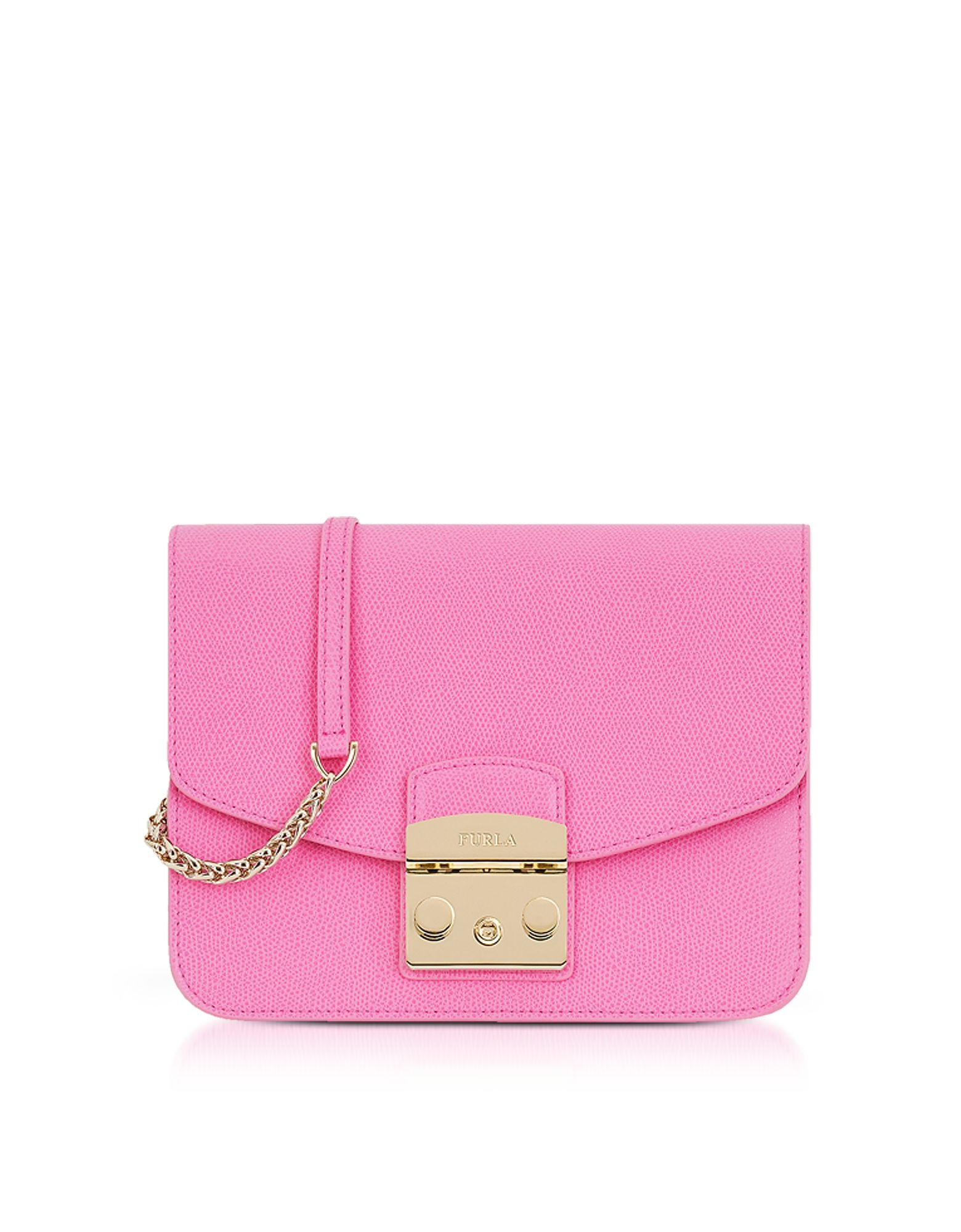 Furla Handbags, Orchid Leather Metropolis Small Shoulder Bag