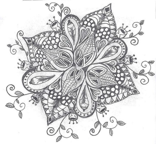 Picture 224 by n_lucas, via Flickr | Zentangle | Pinterest ...