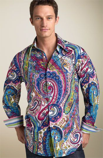 Robert Graham 'Sir Roland' Paisley Shirt...IM SO IN LOVE WITH THIS SHIRT~tvs