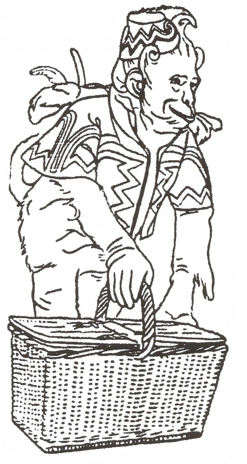 Monkeys From Wizard of Oz Coloring Page | Beware of Flying Monkeys ...