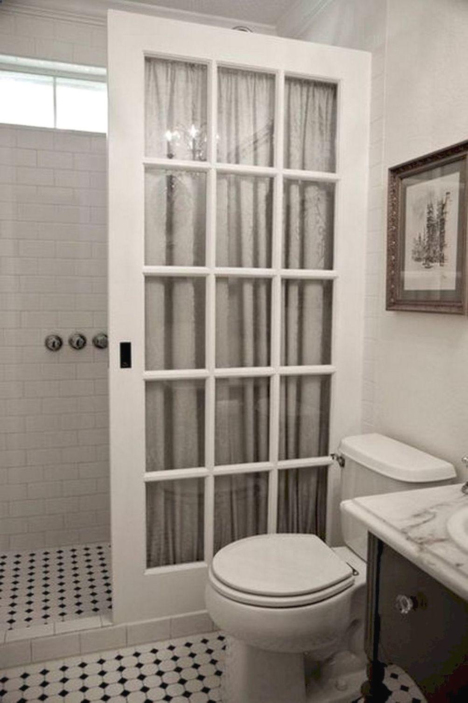 Remodeling Bathroom Drywall Glass Shower Enclosures French Pocket Doors Bathrooms Remodel