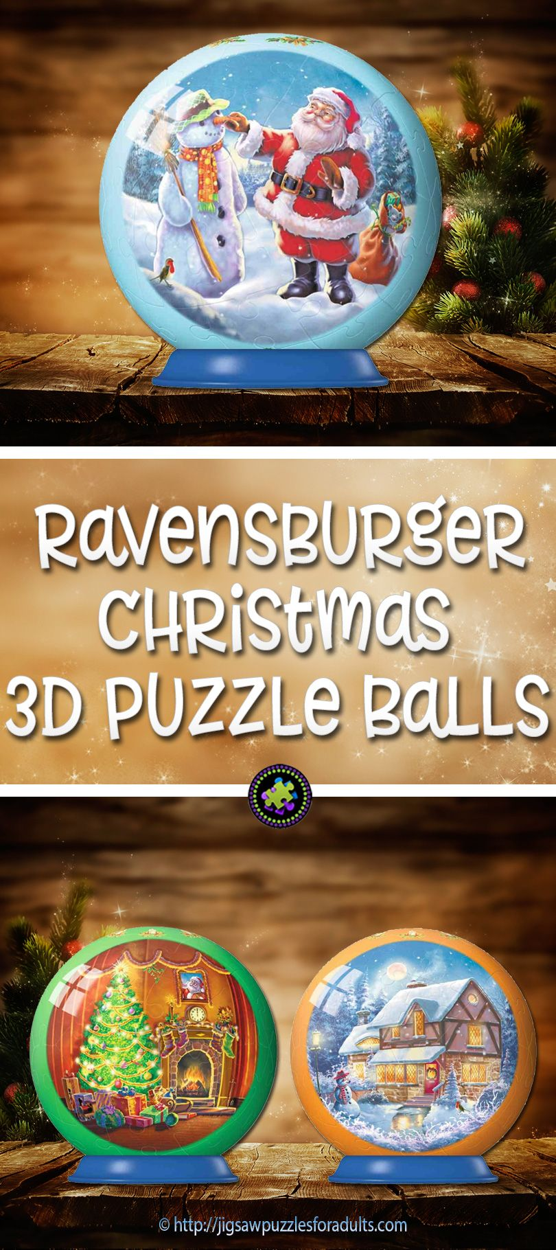 Ravensburger Christmas Puzzle Balls | Jigsaw Puzzle Madness ...