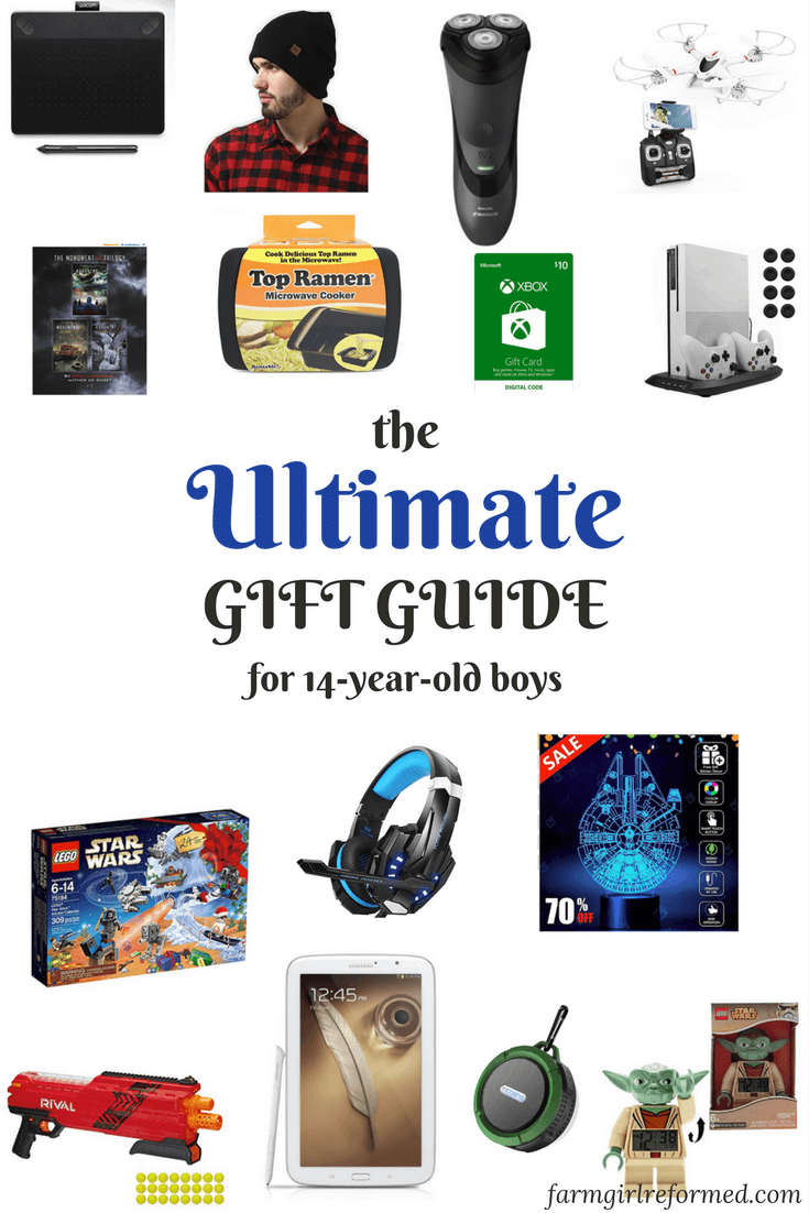 The Ultimate Gift Guide for 14-year-old Boys | Best of Farm Girl ...