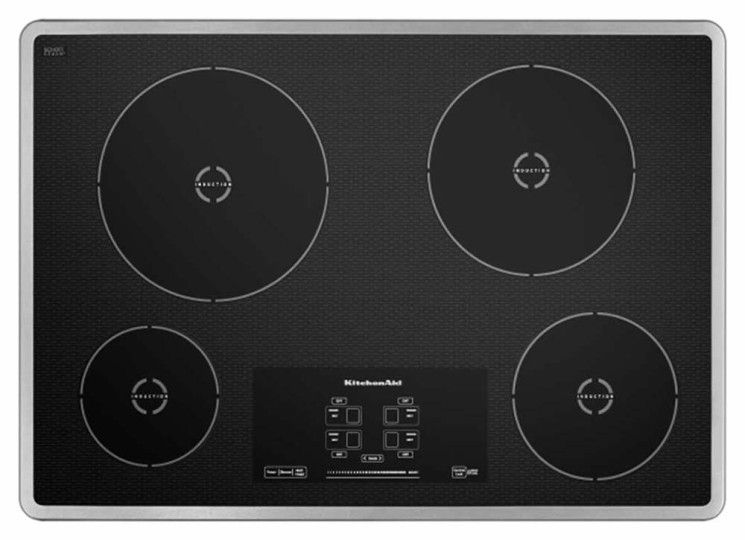 kitchenaid induction cooktop instructions