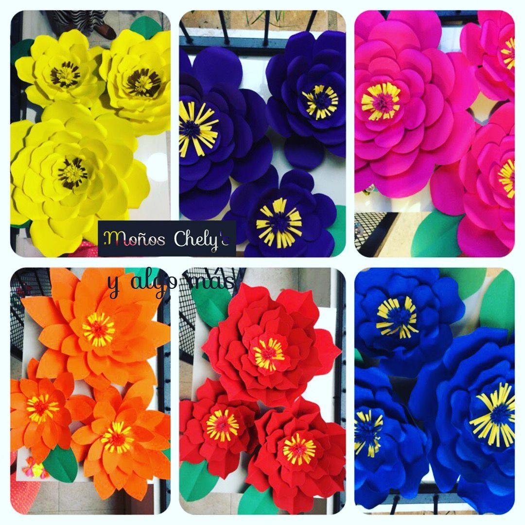 Flores De Cartulina Iris Disenos Flores Y Otros En Papel
