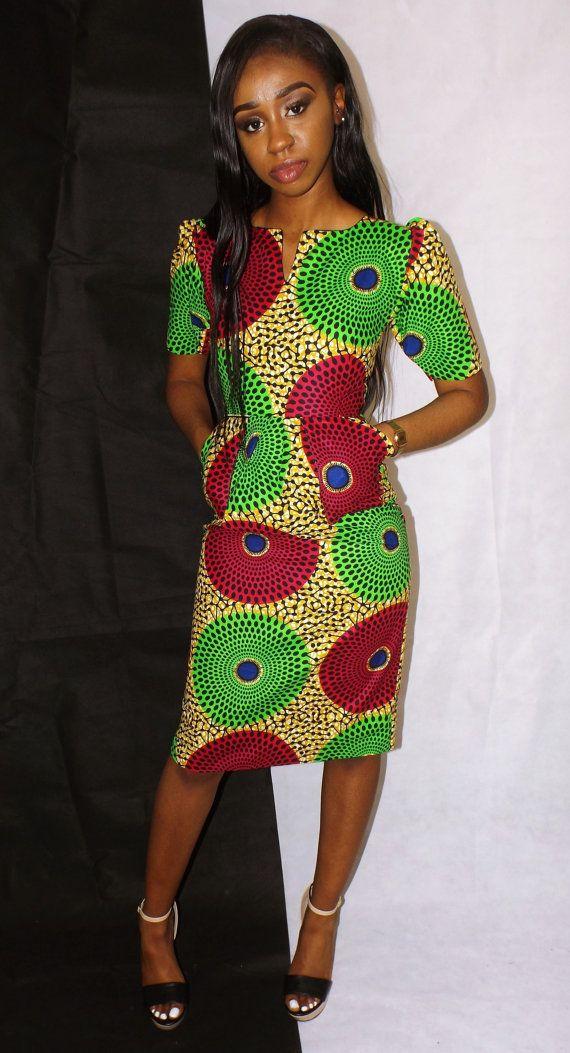 6635cb96c1 Ankara Pencil dress More African Attire ...