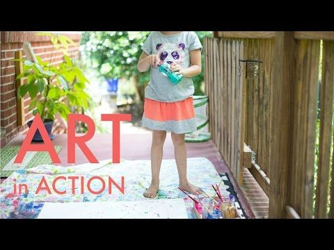 Art in Action with Kids Art Videos