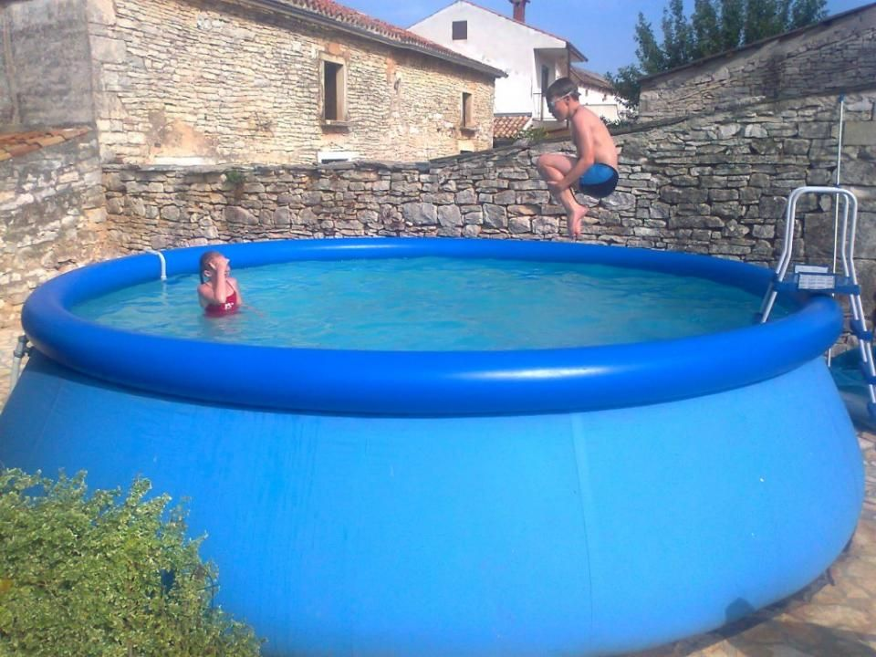 Plastic Garden Pool Make Family Atmosphere More Cheerful Plastic