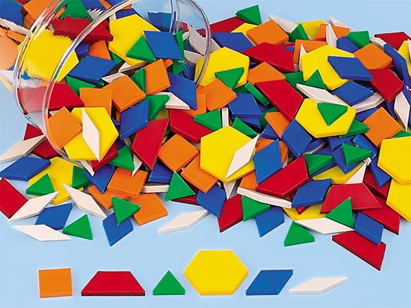 pattern blocks by lakeshore learning; http