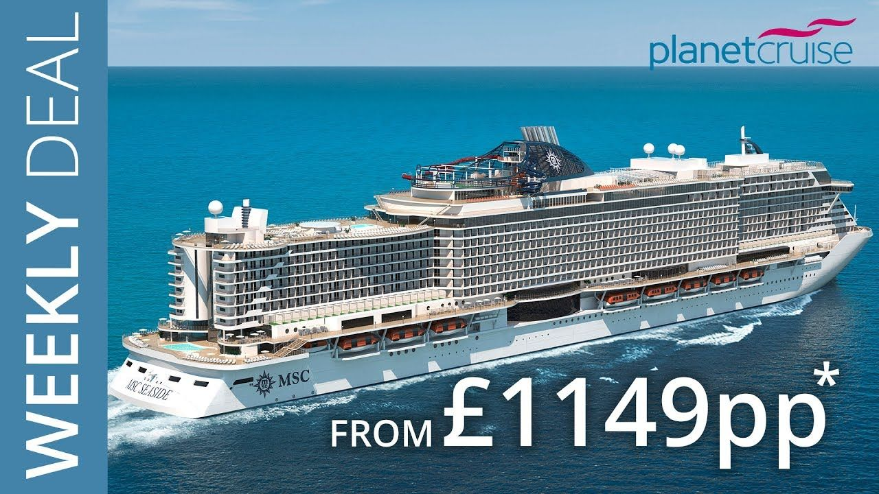 Cool MSC Seaside Nine Evening Miami And Caribbean Cruise From - Cruise ship promotions