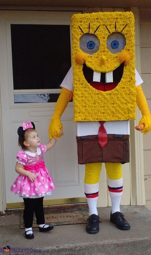 Spongebob Daddy and Bel - 2012 Halloween Costume Contest