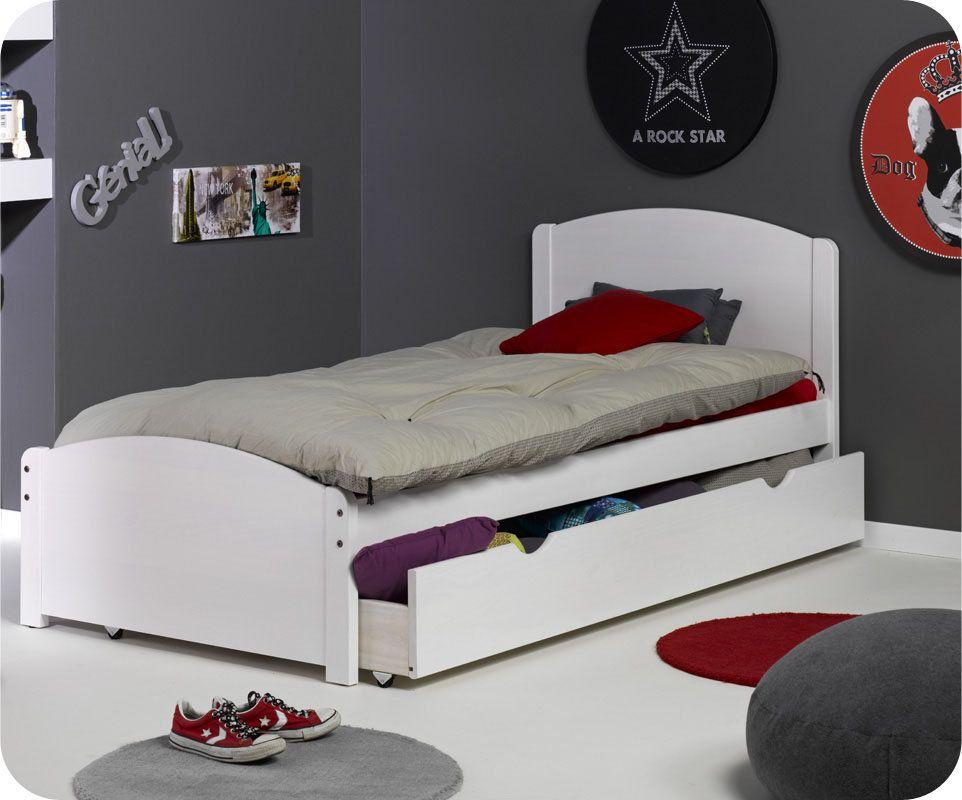 lit enfant 90x190 avec sommier