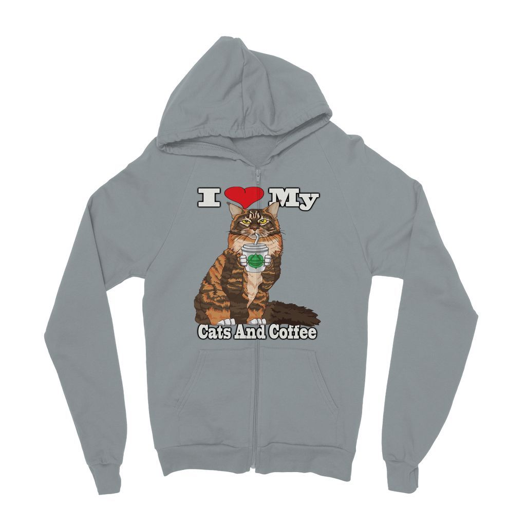 I love my maine coon kids zip hoodie kangaroo pouch and products