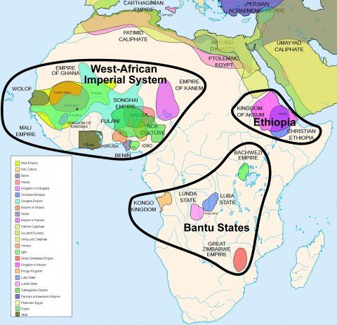 40 more maps that explain the world | Maps | African empires