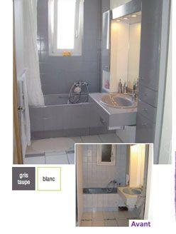 peinture pour baignoire lavabo carrelage salle bain resinence color couleur taupe - Peinture Pour Carrelage De Salle De Bain