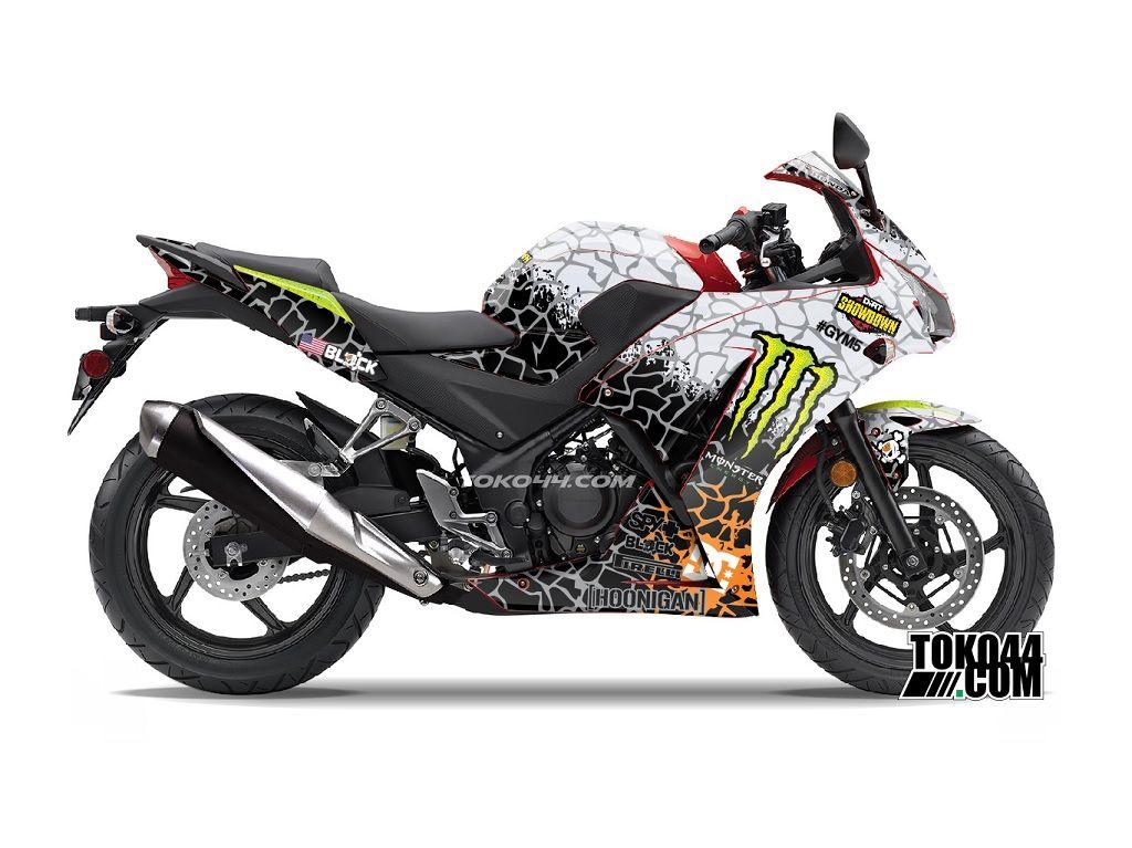 Decal Sticker CBR 150 R Merah – Stiker Modifikasi Honda CBR 150 R K45 Lokal | Toko44.com