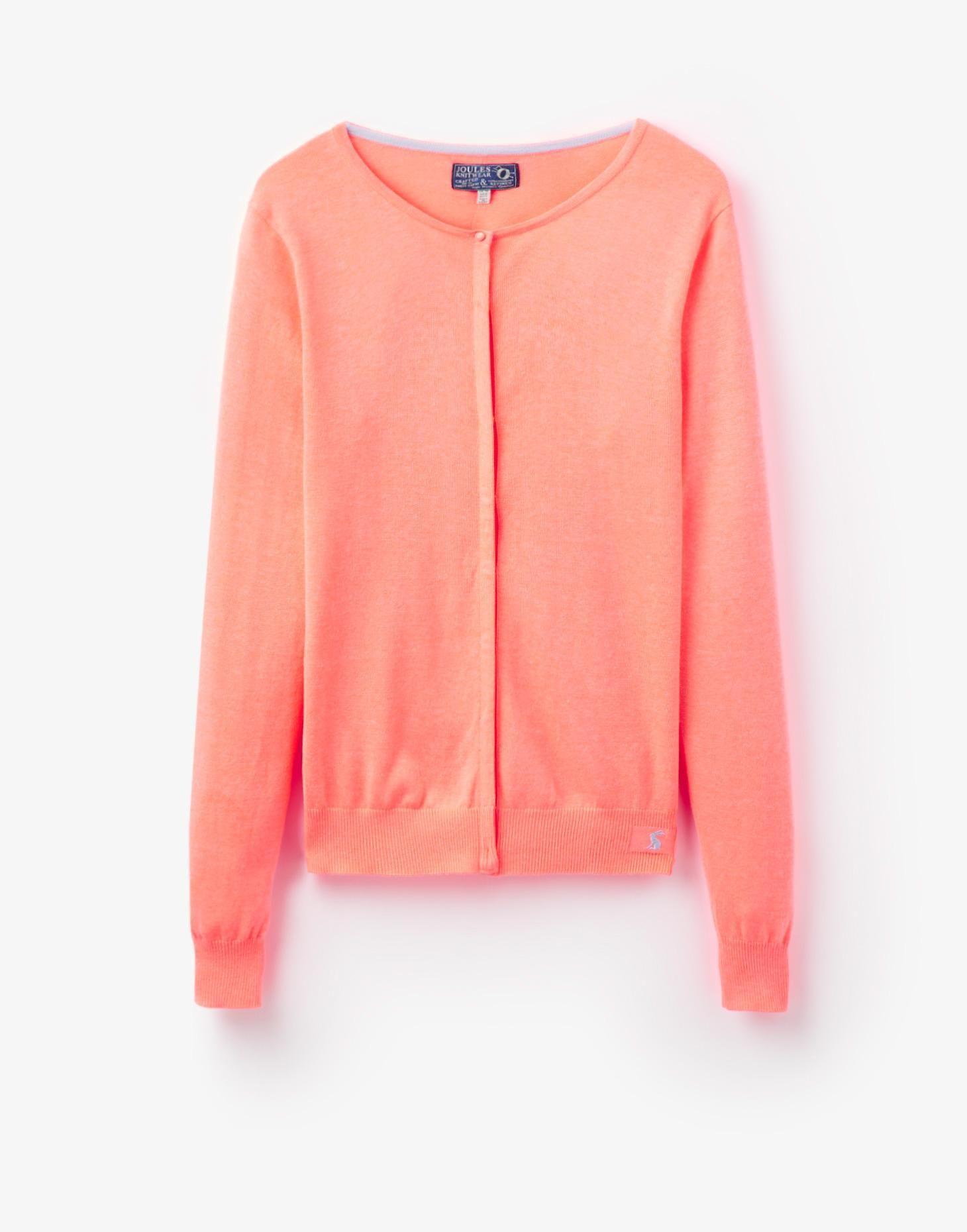 Faith Fluoro Orange Cardigan | Joules UK | Joules | Pinterest ...