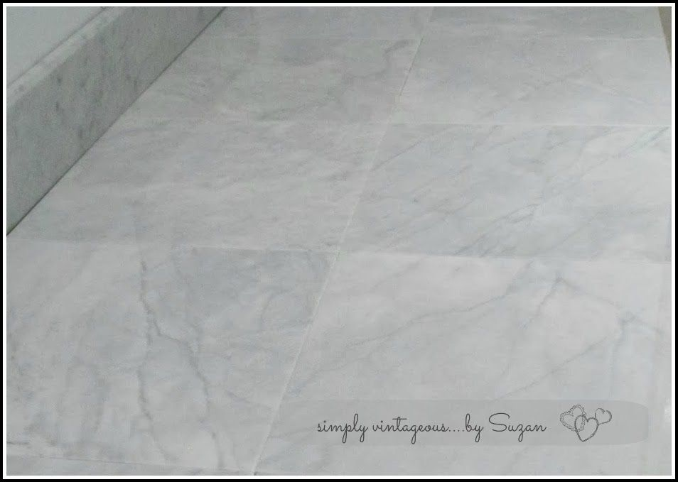 Marble Tile Countertop 300 00 Instead Of 3000 But Course These Will Be Set On A 45 Degree Angle