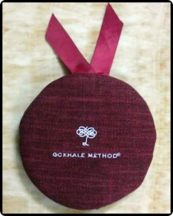 Products | Gokhale Method Institute - weighted head cushion allows for practice strengthening neck muscles - a first step toward carrying baskets on your head:)