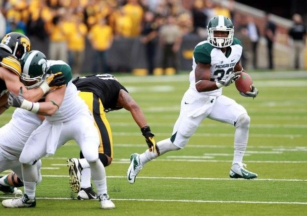 Reese Strickland Usa Today Sports Michigan State Spartans Running