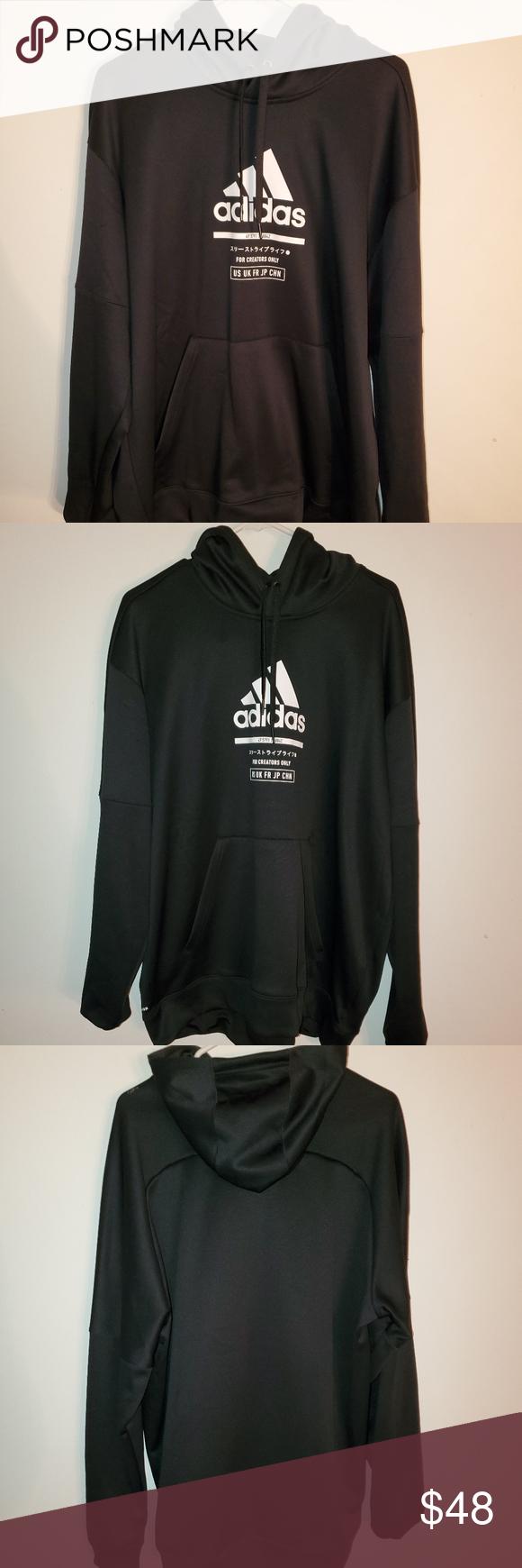 Nwot Men S Adidas Sweatshirt Size 2xl Adidas Sweatshirt White Adidas Sweatshirts [ 1740 x 580 Pixel ]