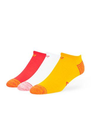 a4a583f9 47 Kansas City Chiefs Skylite 3pk Mens No Show Socks | NFL - Kansas ...