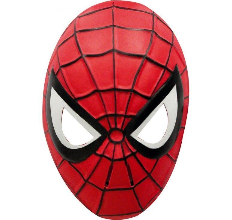 Masque spiderman enfant masque de carnaval bricolage - Masque spiderman a imprimer ...
