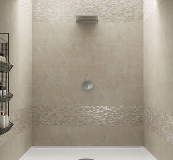 aspect ivory glazed porcelain wf 400x580mm  glass tile