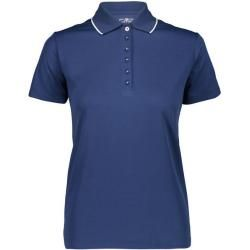 Photo of Cmp Woman Polo Shirt Woman Polo, Size 44 In Navy, Size 44 In Navy F.lli Campagnolo