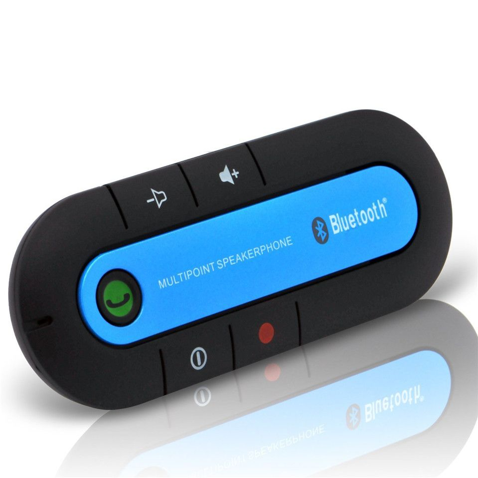 Bluetooth Car Kit Wireless Bluetooth Slim Magnetic Handsfree - Clever magnetic wall clock charges phone wirelessly