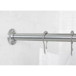 Bronze Shower Curtain Rod Cover