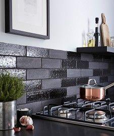 Aaronson™ Matt Black Tile