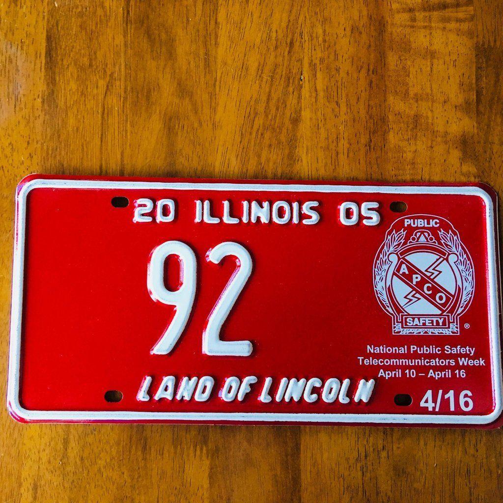 2005 Illinois Land of Lincoln APCO Public Safety License