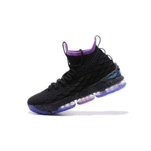 Nuevos Zapatos Lebron De Baloncesto De Nike Lebron Zapatos 15 2017 Hombres Púrpura Negro 1ed039