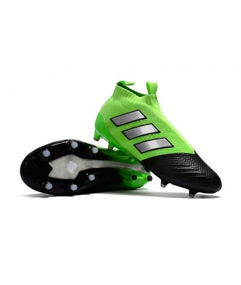 best sneakers 6e699 eb0a0 Adidas Muži ACE 17 Purecontrol FG PEVNÝ POVRCH Zelená Černá Stříbro Kopačky
