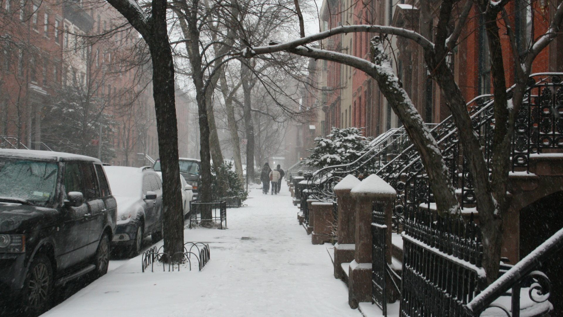 Pin By Wall Lucky On Ny In Snow New York Wallpaper New York Street New York Christmas