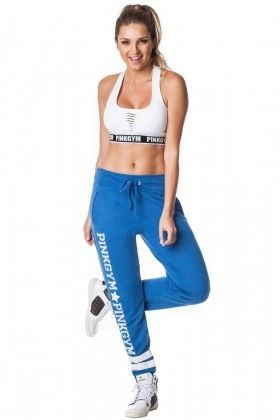 Calça Moletinho - Pink Gym CALX13002 Dani Banani Fashion Fitness