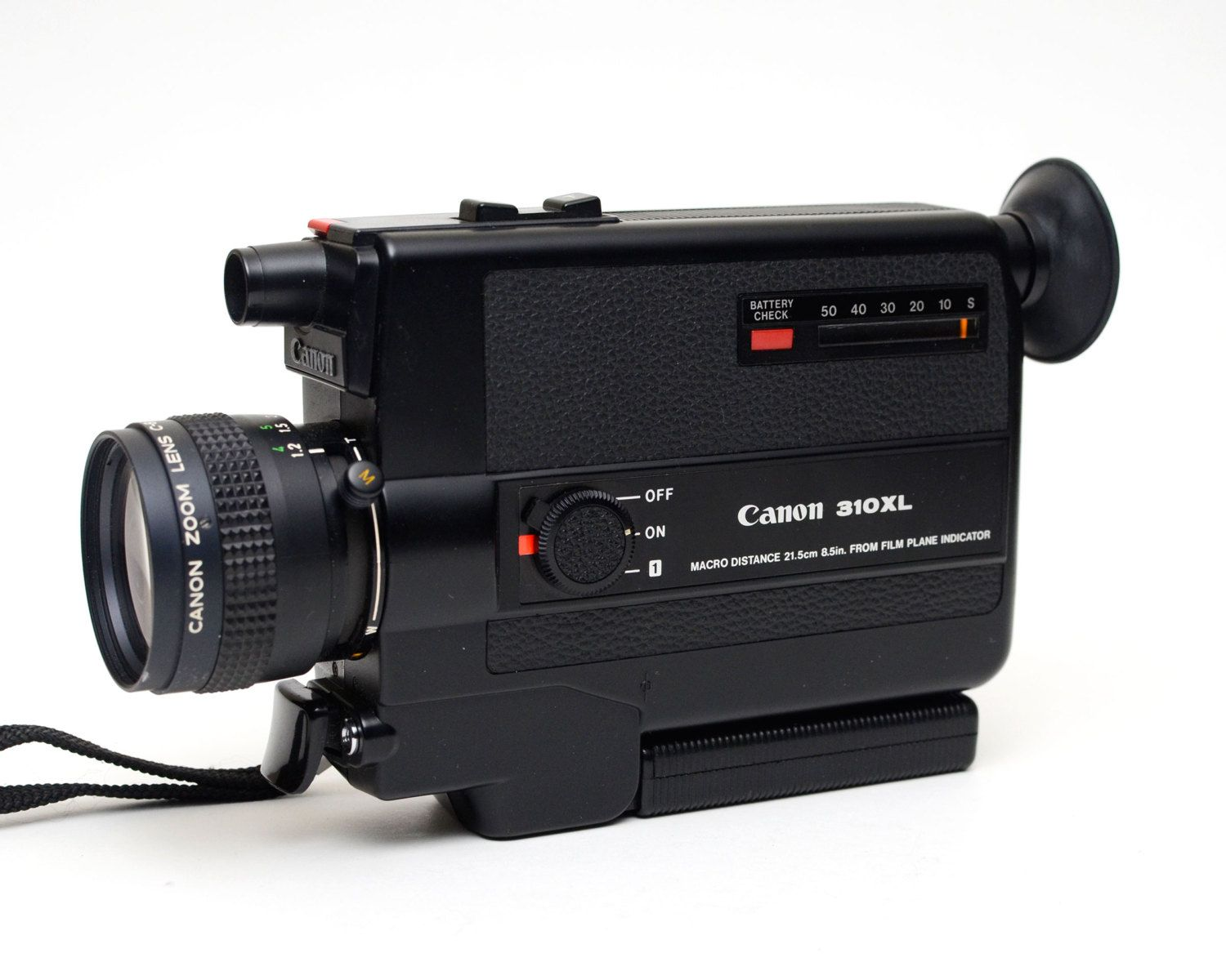 Vintage Canon 310XL - Super 8 Film Movie Camera by ValueBliss on Etsy