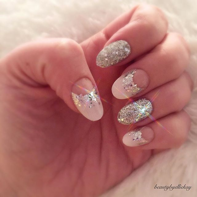 Be all about the bling bling today! Get these Gel Fantasy nails at ...