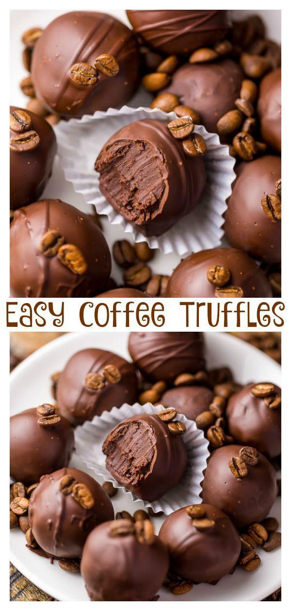 5-Ingredient Espresso Chocolate Truffles