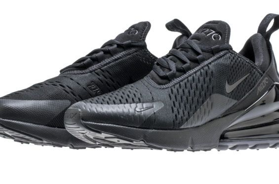 Nike Air Max 270 Triple Black Dropping In March   Triple black, Air max and  March