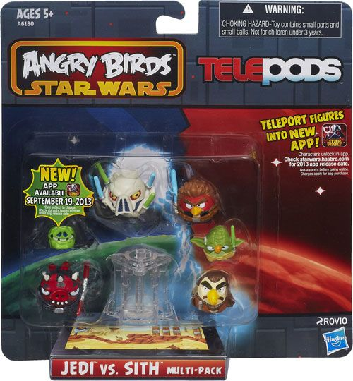 Angry Birds Star Wars Telepods Review Brinquedos
