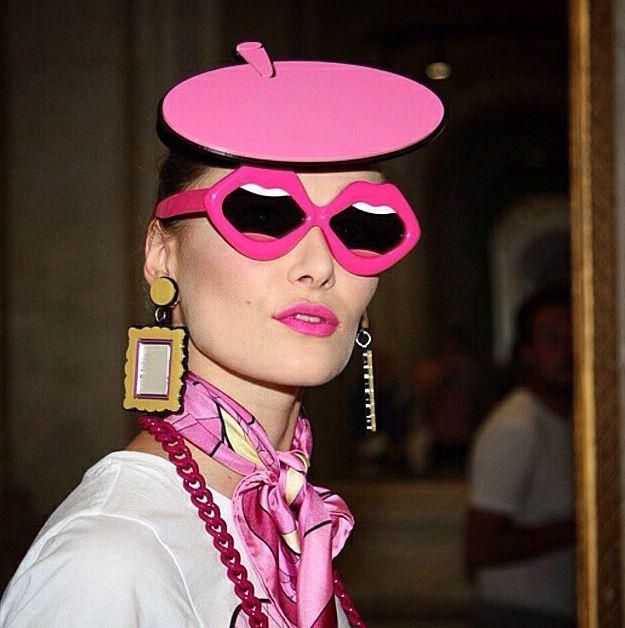 Linda Farrow Yazbukey lips sunglasses R1jLpfxLfl