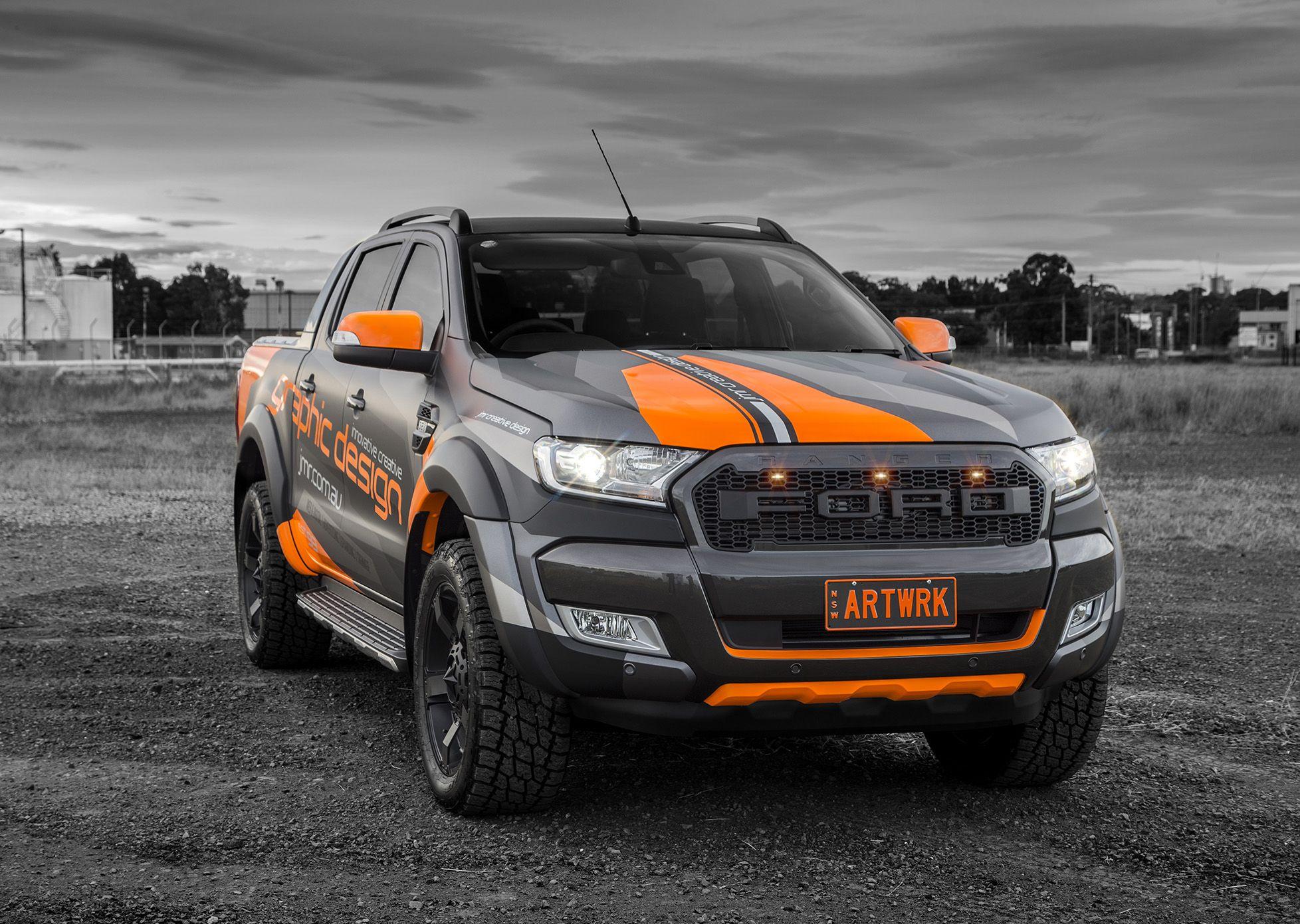 Dark Ranger In 2020 Ford Ranger Wildtrak Ford Ranger Ranger Car