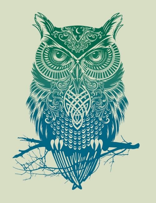 Next tattoo. With yellow added. Colors of my mother's birthstone, mine, my daughters's. The relationships in my life that will endure forever. The woman who gave me life and taught me about living, the women who gave me depth and me taught me about loving. Myself, the bridge between them. The Celtic Owl...All seeing, all knowing, eternal truth and wisdom.