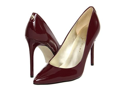 Ivanka Trump Kayden Pump in Rich Berry - Wonder how Dorothy would tramp  around in these