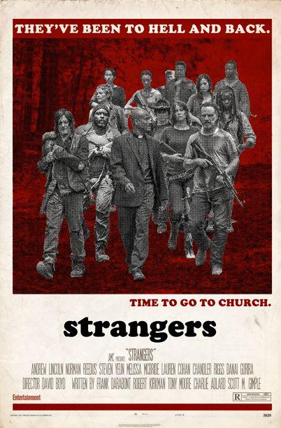 Aug Walking Dead EW Cover | The Walking Dead | 'Walking Dead' Season 5 Im-posters: We Retrofit ...